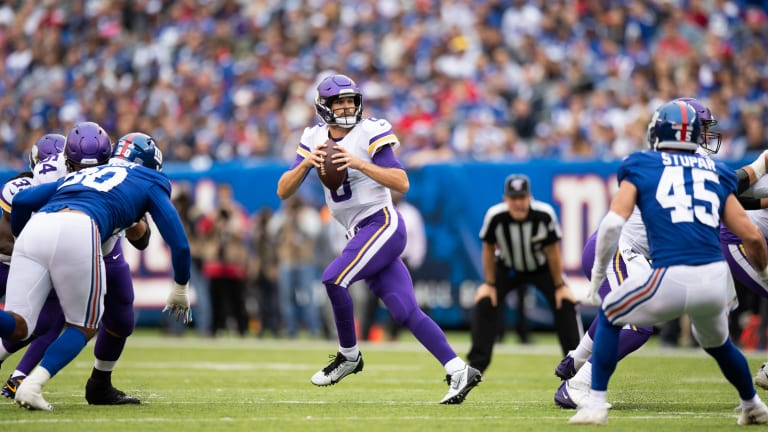 If the Vikings keep losing, should they trade Kirk Cousins before the deadline?