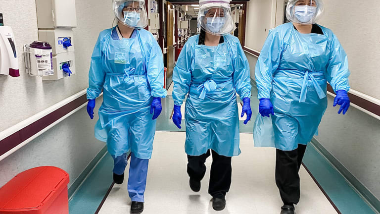 Minnesota hospitals hit lowest point of staffed bed availability during pandemic