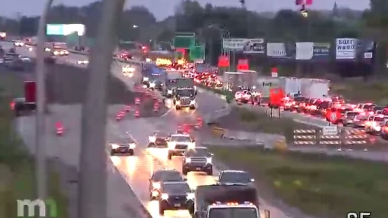 Crashes on eastbound I-94 near Albertville cause huge delays