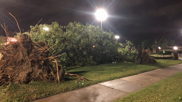 Significant damage, power outages, school delays in the Twin Cities after storms rip through overnight
