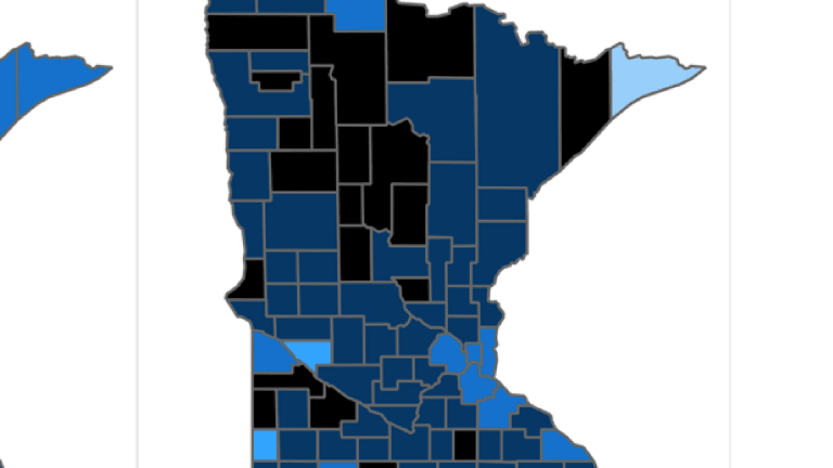 County case rates continue to spike in greater Minnesota, growth slower in Twin Cities