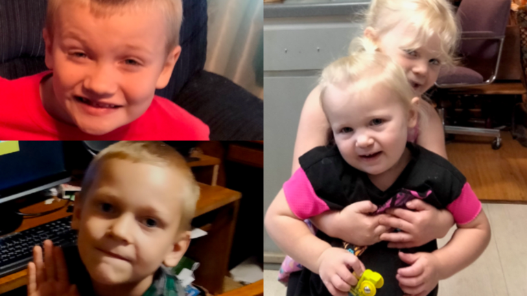 Search for 4 kids who may be in danger traveling with parents