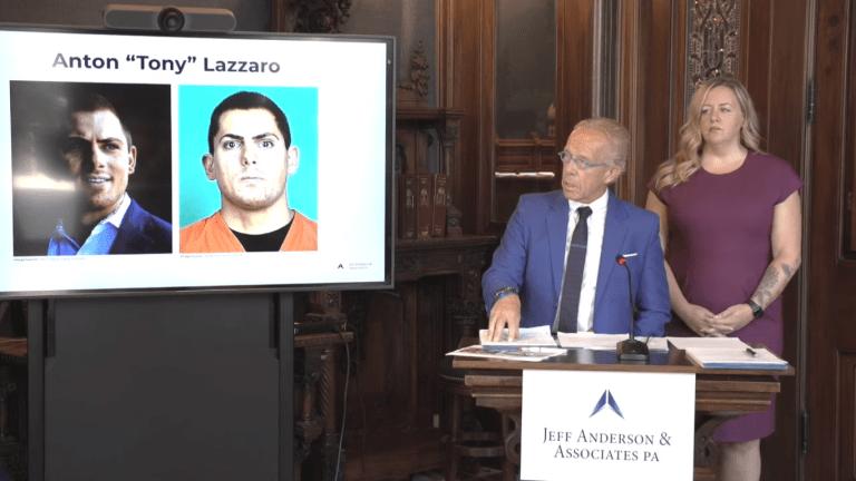 Civil lawsuit accuses Anton Lazzaro of being sex trafficking 'ringmaster'
