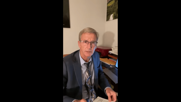 Vaccine-skeptic gubernatorial candidate wants 'civil disobedience' over COVID requirements