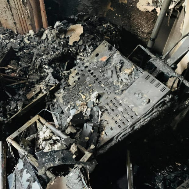 Fire destroys home and studio of Prince backing musician Morris Hayes.