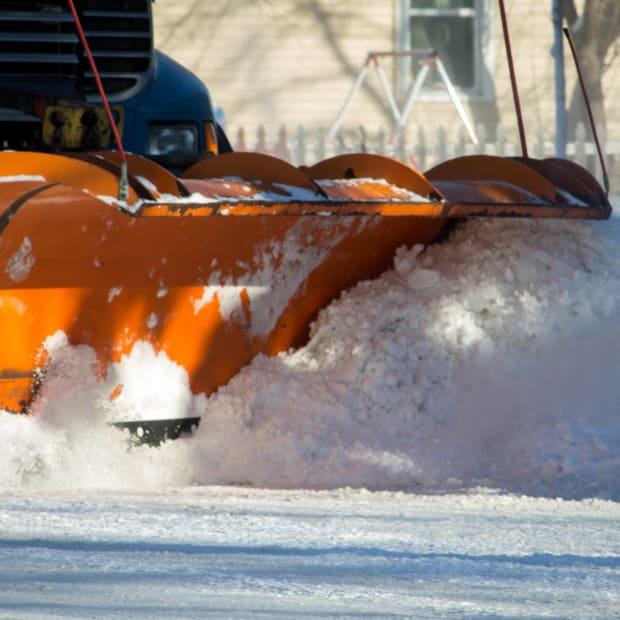 plow, snow