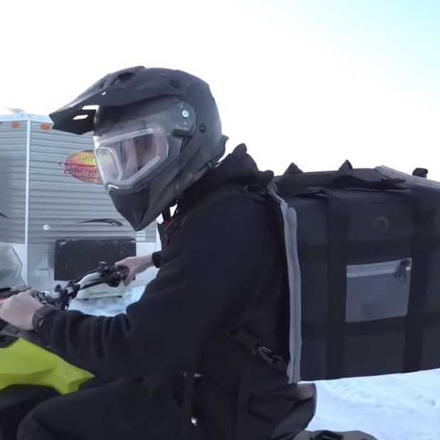 Iron Tap snowmobile delivery