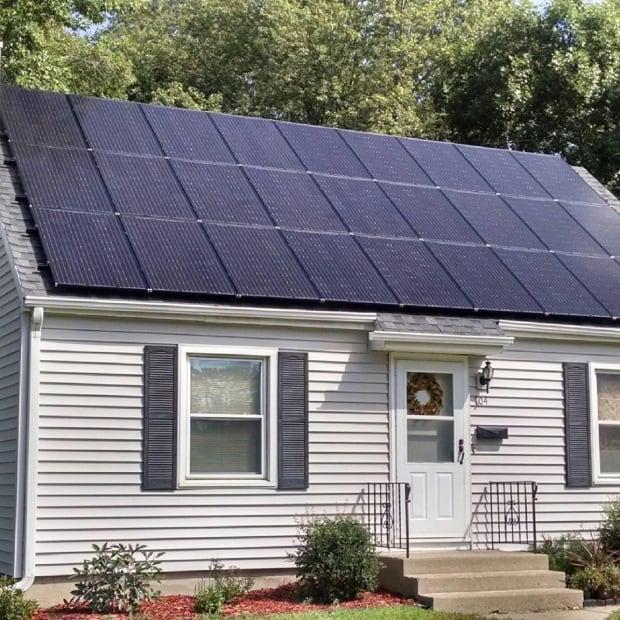 All Energy Solar Residential Installation