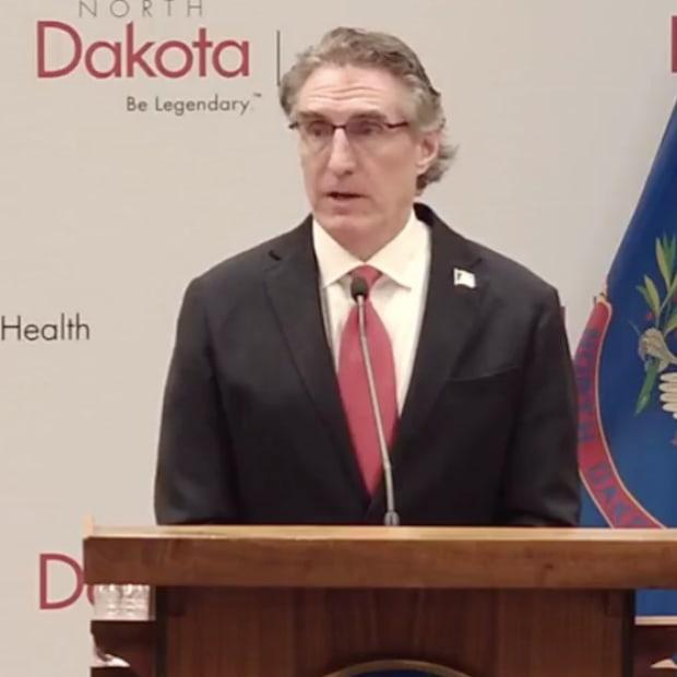 North Dakota Gov. Doug Burgum
