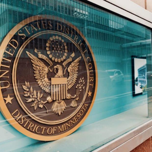 U.S. district court minnesota - federal court