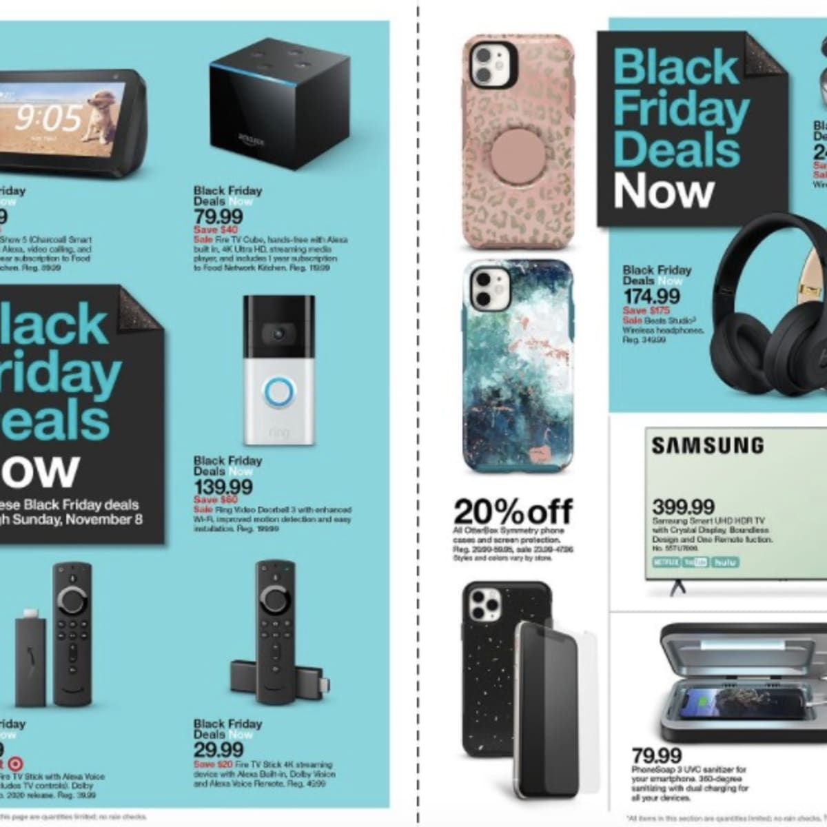 Target Reveals Its First Black Friday Deals With Month Long Discounts Planned Bring Me The News