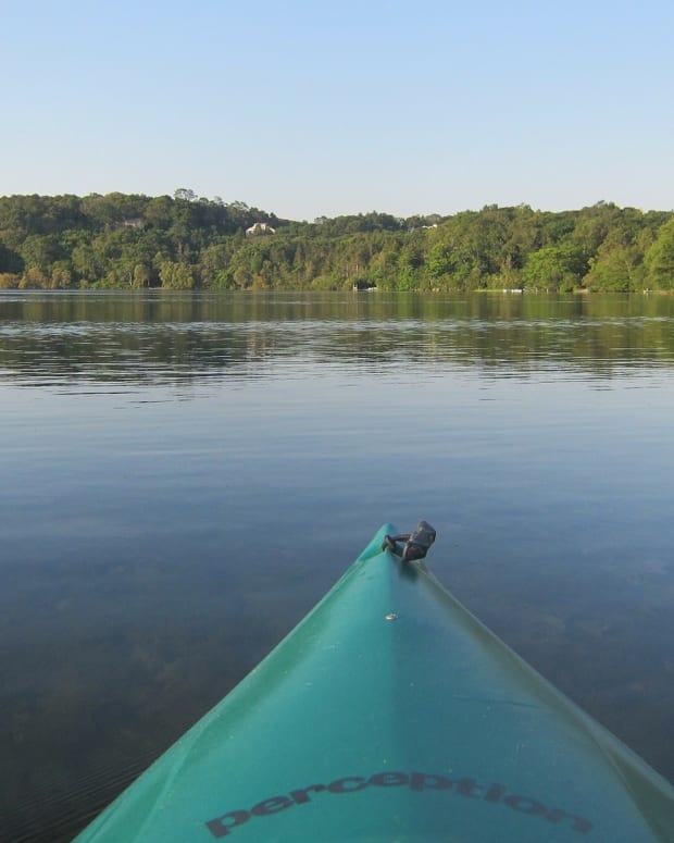 Kayak lake