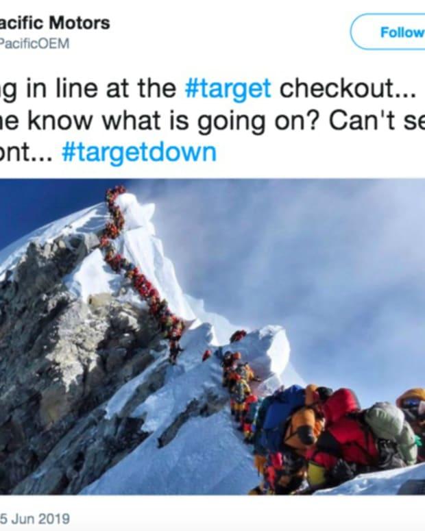 Target reaction