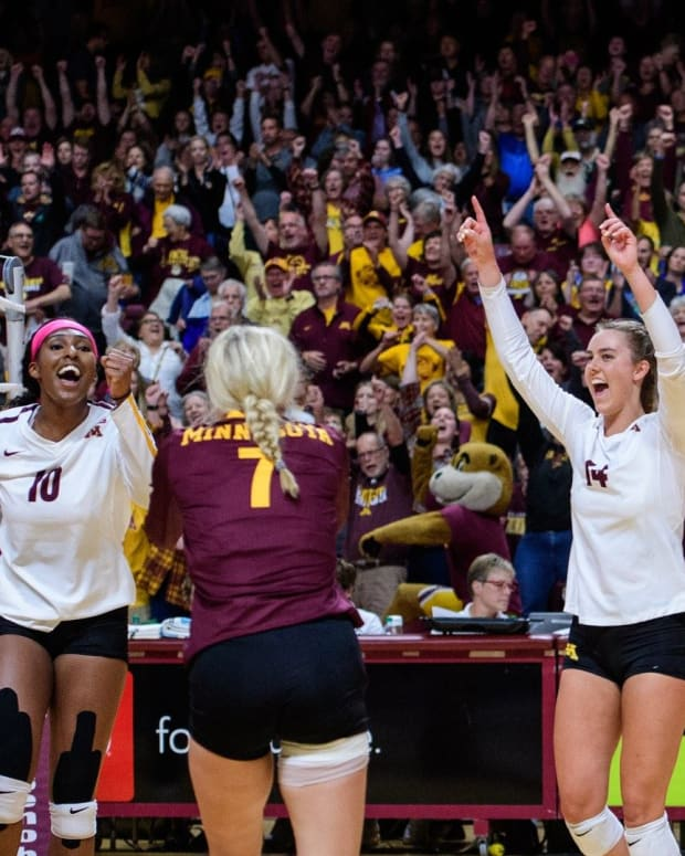 Gophers volleyball