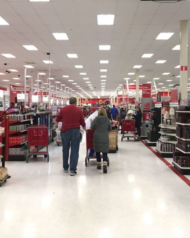 Target store inside