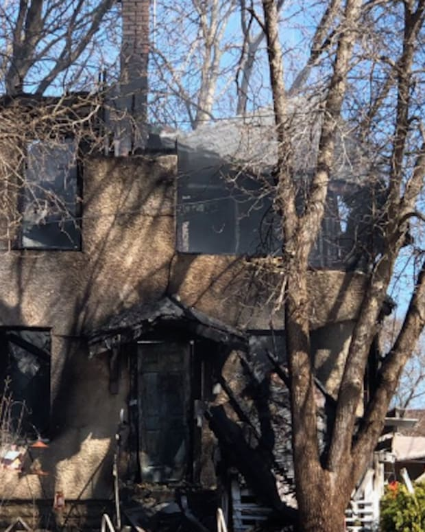 Home destroyed by fire in St. Paul