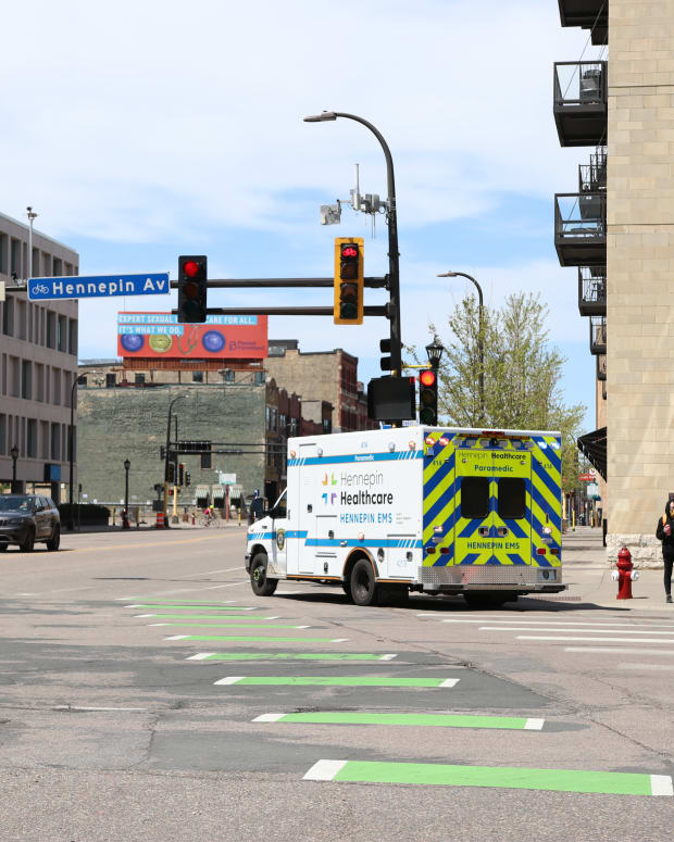 Ambulance Hennepin Healthcare