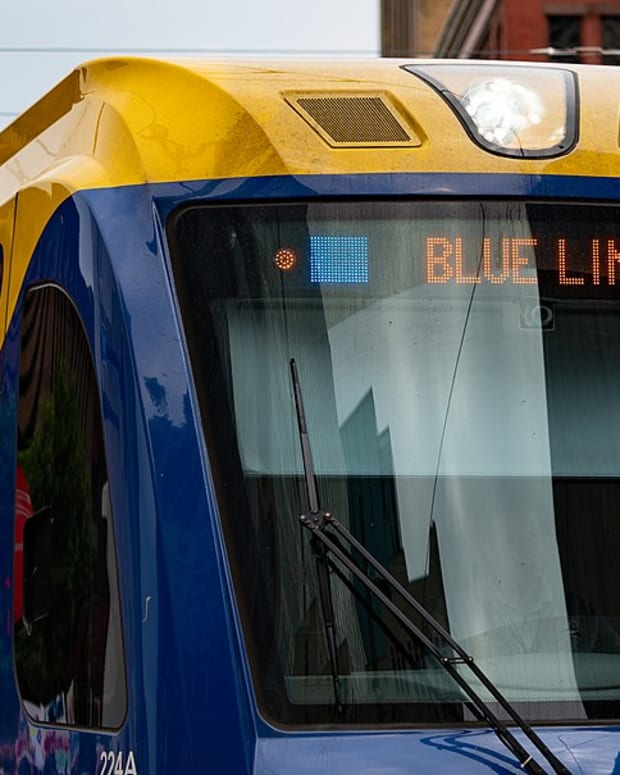Blue Line light rail Metro Transit
