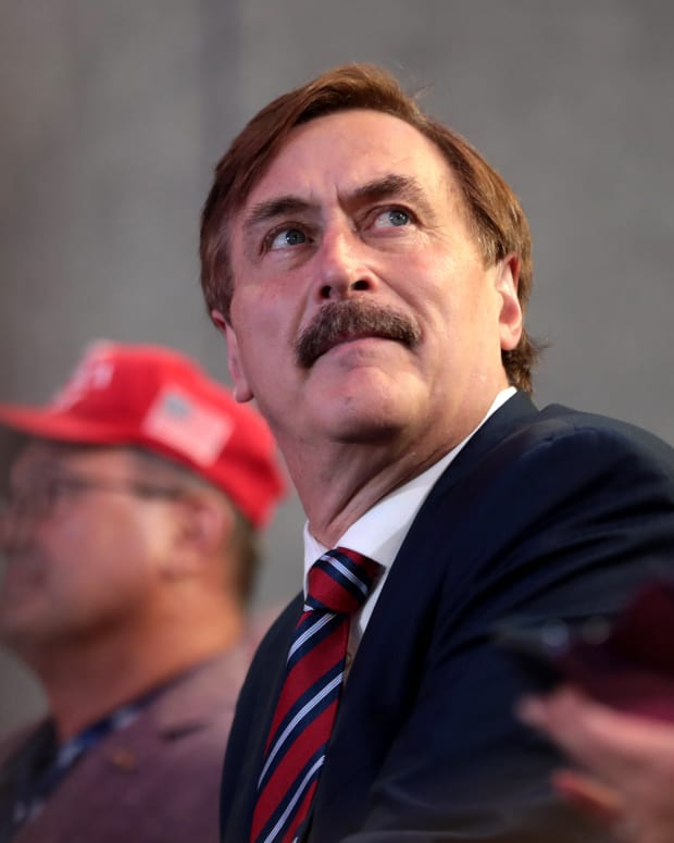 Mike Lindell, My Pillow CEO.