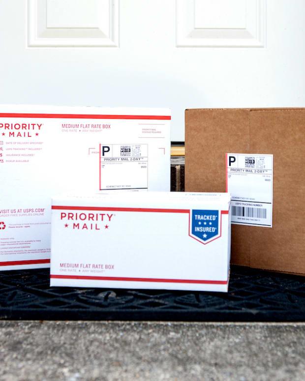 USPS packages