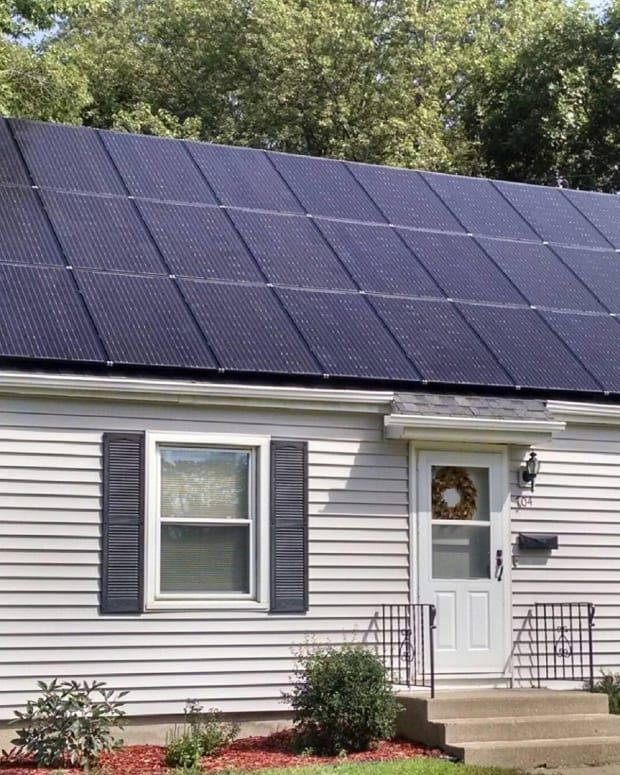 All Energy Solar Residential Installation