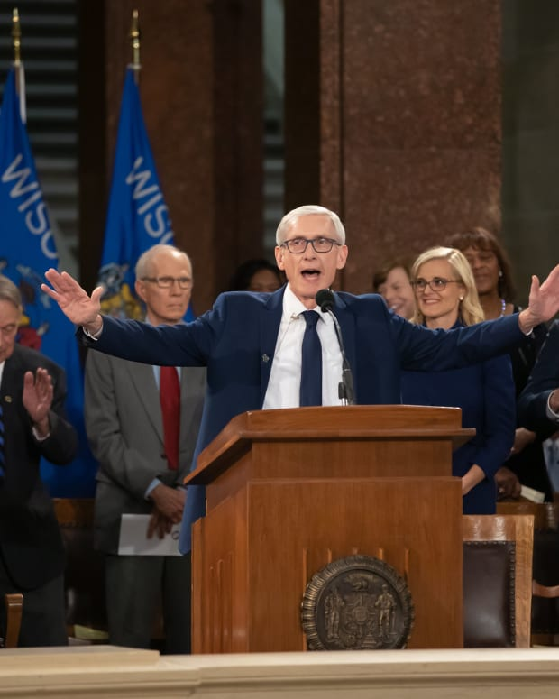 Tony Evers, Wisconsin governor