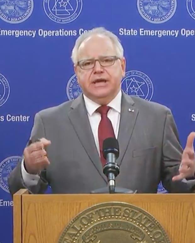 Governor Tim Walz