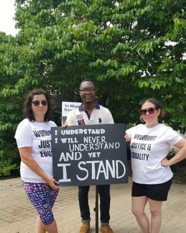 Woodburyprotest