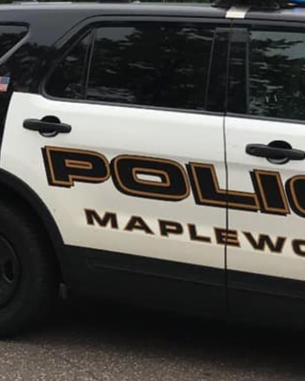 Maplewood police cruiser.