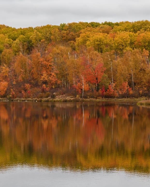 minnesota fall lake - pixabay