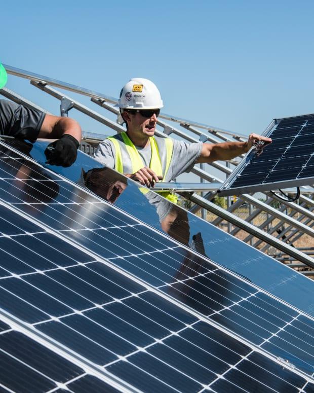 clean energy solar panels