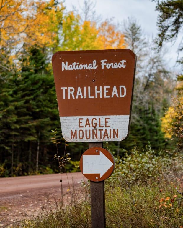 eagle mountain trailhead minnesota