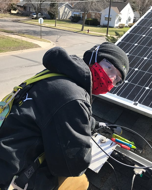 Bring Me The News - All Energy Solar - COVID SAFE Earth Day Solar Installation