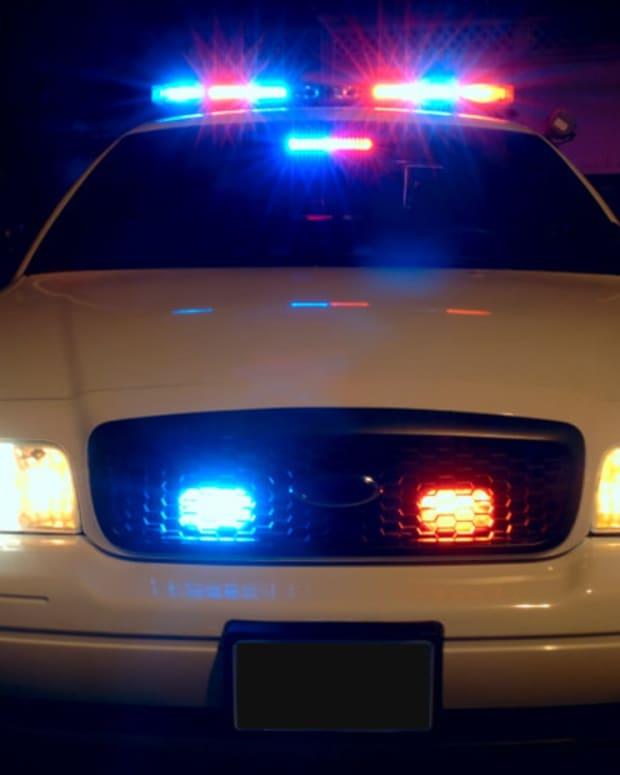 Flickr - squad car lights night