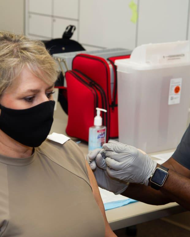 Flickr - COVID vaccine Joint Base San Antonio