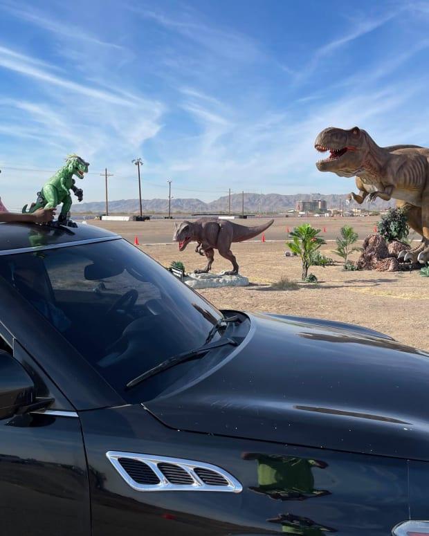 Facebook - Dinosaur Drive-Thru image
