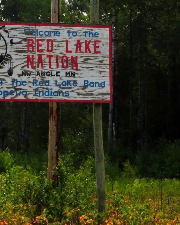 Flickr - Red Lake Nation sign - Ken Lund