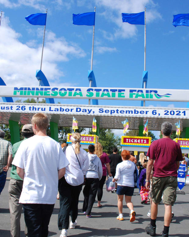 Minnesota State Fair - main gate day 2021