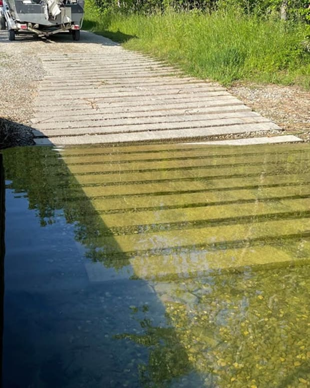 mn dnr - boat launch - low water levels