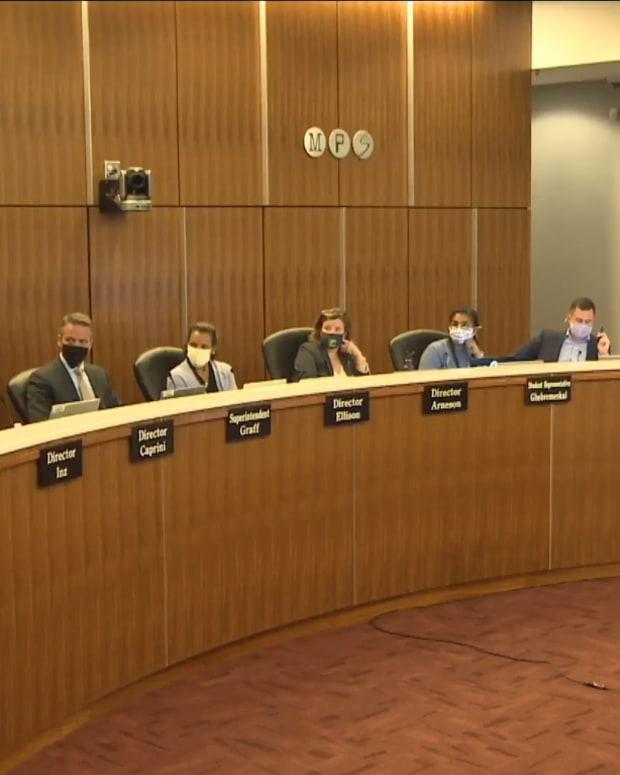 Minneapolis school board meeting sept 14