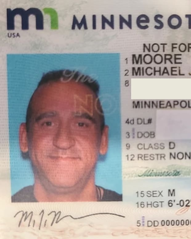 mickey moore driver's license shared