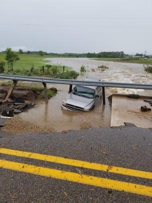 flooded crash 5