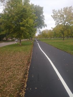 Nate Pentz - Victory Memorial path lines - 1
