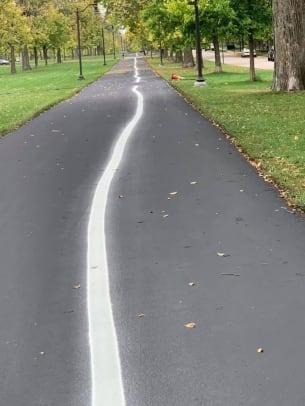 Nate Pentz - Victory Memorial path lines - 2