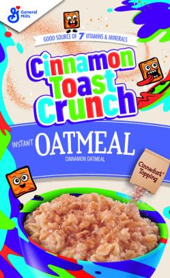 BG Cinnamon Toast Crunch Instant Oatmeal