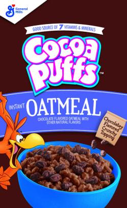 BG Cocoa Puffs Instant Oatmeal