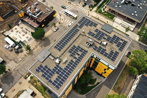 Riverton Solar Installation - 4th street - All Energy Solar