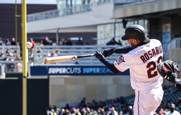 Reports: Marlins interested in Twins' Eddie Rosario