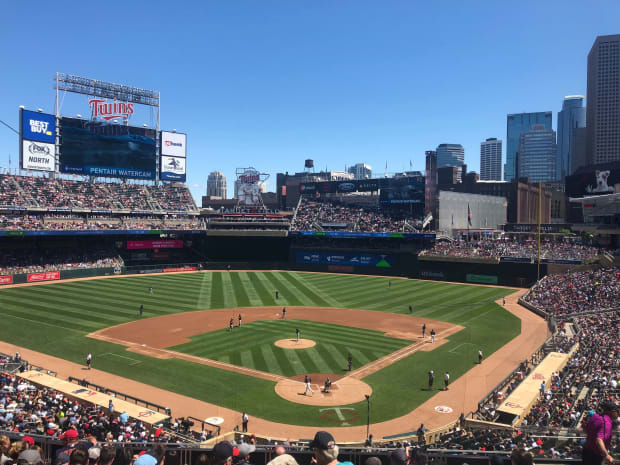 Tickets to Twins-Royals series this weekend nearing sellouts already