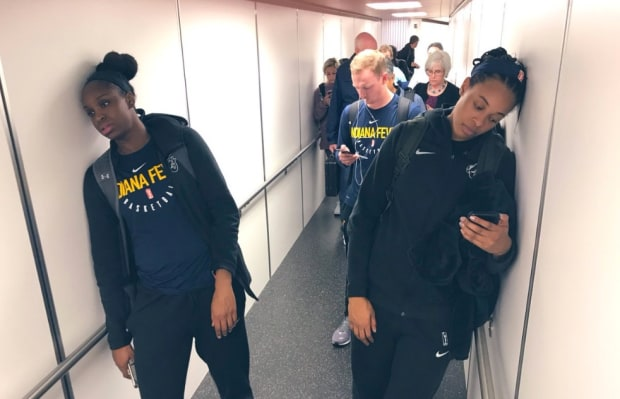 Lynx face Indiana team exhausted after WNBA travel debacle